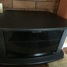 黒のテレビ台