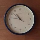 直径20センチ程の掛け時計