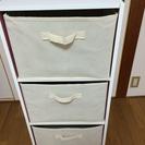 カラーボックス(縦専用ボックス3つ付き)