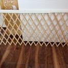 こども用の柵 キッチンなどへの進入防止用(木製、伸縮式)