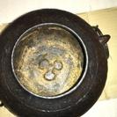 別写真   茶道用: 風炉 釜 火箸 灰かき 炭 等の一式セット