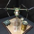 オスプレイMV-22B(陸上自衛隊風)電飾プラモデル(完成品)