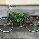 中古自転車 26インチ ギア付き オートライト!