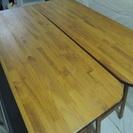 高さ92cm ウッドスタンド式ハイテーブル 折りたたみ式