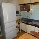 【無料】冷蔵庫415L&米びつラックセットでお持ち帰りください。