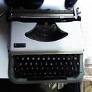 タイプライター  30×30×7cm  中古