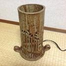 【無料】陶器製のアンティーク調ランプ