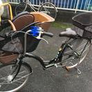 【9/25迄の受付】美品子供乗せ自転車プチママン(電動なし)