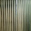 カーテンとレースカーテンのセット
