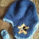キッズ用 ミッキーマウスのニット帽
