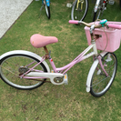 子供用 自転車 中古 20インチ 女児
