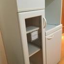 【大至急】食器棚 ホワイト