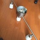 【無料であげます】IKEA 3電球照明 MAX35W