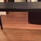 イケア 小さい テーブル 黒色 (中古) 差し上げます。