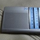 SONY製コンパクトラジオ AM,FM