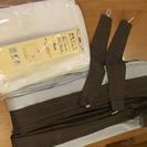 遮光カーテンと新品レースのセット(100㎝×178㎝)