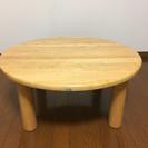 丸いテーブル(◌ॢ•ω•◌ॢ)