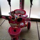 ミニーちゃん(^3^)三輪車