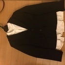 白ワイシャツ付きリクルートスーツ3点セット