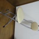 【中古】折りたたみ椅子 ベージュ ※9月中に引き取り可能な方
