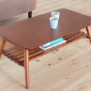 ローテーブル/ブラウン/90×50×35/