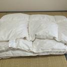 ※取引先決定※【1000円】ニトリフェザー掛け布団シングル