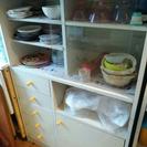 食器棚 29日は福岡市東区(でお引き取りの方優先)、29日以降は北...