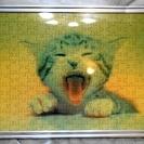 猫のジグソーパズル♪