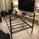 シングル ベッド【フレーム】 アンティーク調デザイン