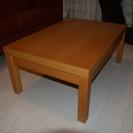 無印良品ブナ材ローテーブル90×60×38H