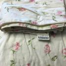ファブリック花柄シンプル掛け布団カバー