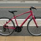 メリダ クロスバイク ピンクメタ 自転車