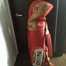 【レディース】ゴルフバッグ&ゴルフクラブ一式