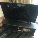 32型ハイビジョンテレビとテレビ台セット(DVDプレイヤー付き)