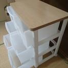アイリスオーヤマ チェスト 木天板 3段×2列 幅62.4 ホワイ...