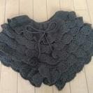 【0円】かわいい毛糸のキュロット☆Mサイズ(150相当)