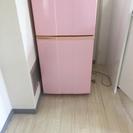 冷蔵庫 Haier ピンク 2010年製