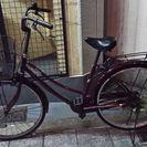26インチの自転車