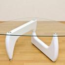 【値下げ】ガラステーブル