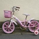 ※売約済 ★ 女の子 補助輪付き自転車 ピンク ★ 16インチ マ...
