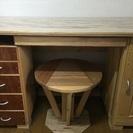 手作りの机です!