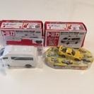 新品 トミカの救急車とミニカー