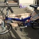 ジャンク・折りたたみ自転車・お引き取り可能な方・1000円