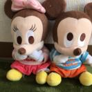 セーター着用のミッキー&ミニー【お取引中】