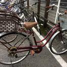 【0円】中古自転車(ママチャリ)引取り希望