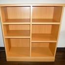 木製の整理棚 綺麗です