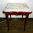イタリア製 猫脚のサイドテーブル
