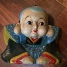 福助さん 高さ 20センチくらい 古いモノです。陶器製