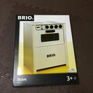 新品 BRIO キッチン コンロ ホワイト 木製 おままごと