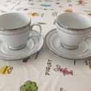コーヒーカップとお皿2セット